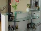 Стеклянные барные стойки для кухни