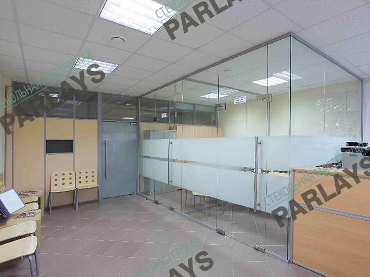Cтеклянные офисные перегородки низкая цена в Москве
