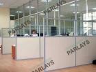 Мобильные перегородки офисные из стекла