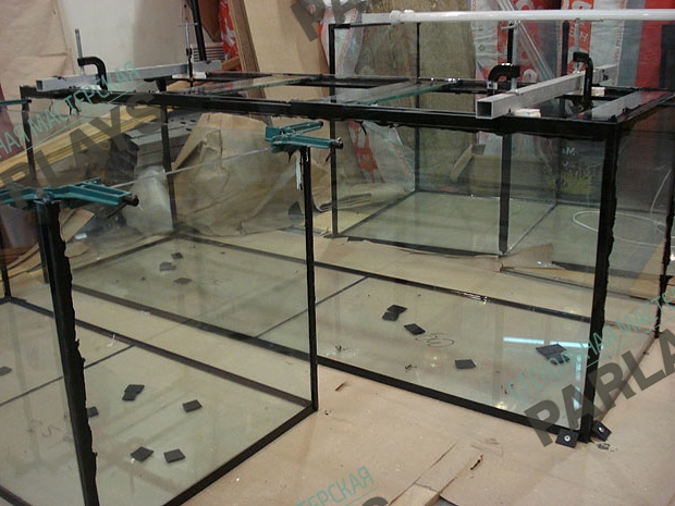 Стеклянные аквариумы на заказ
