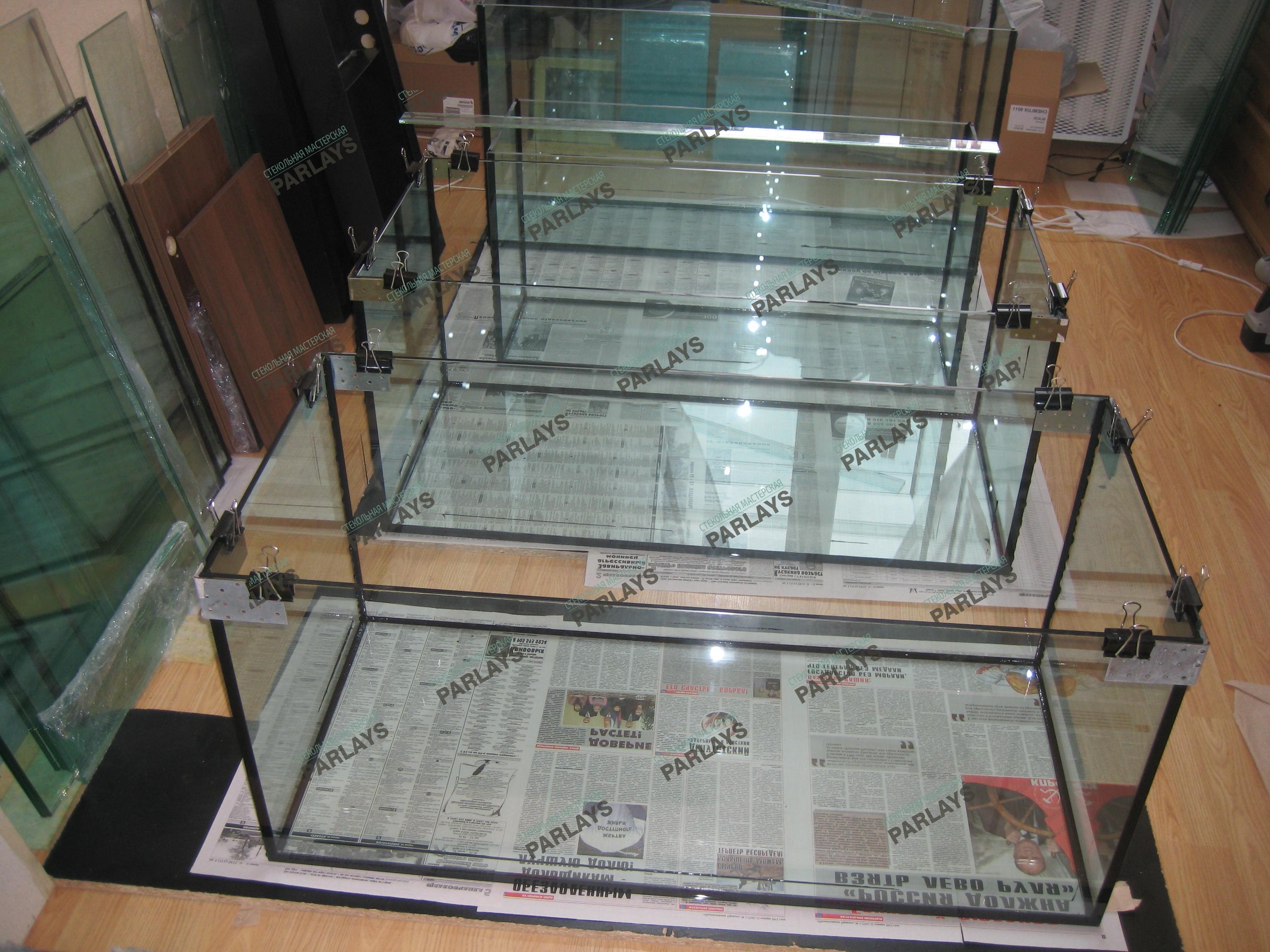 Стеклянные аквариумы купить
