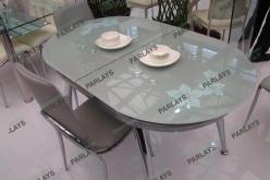 Обеденные стеклянные столы