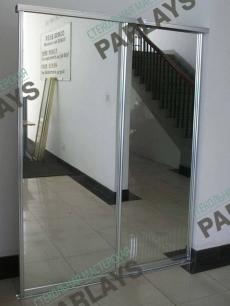 Зеркальные двери для шкафов купе