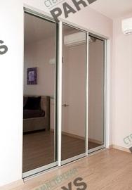 Раздвижные стеклянные двери на заказ