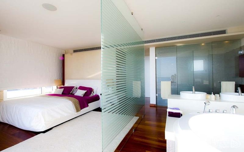 Межкомнатные стеклянные перегородки в квартире